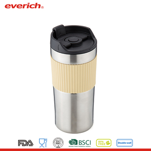 Everich Hot Sale New Products Private Label Customized Stainless Steel French Press Travel Mug