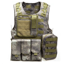 Multicam <span class=keywords><strong>Outdoor</strong></span> Angeln Zubehör Camouflage <span class=keywords><strong>Weste</strong></span> Multi Taschen Military Tactical Airsoft Molle Plattenträger Jagd <span class=keywords><strong>Weste</strong></span>