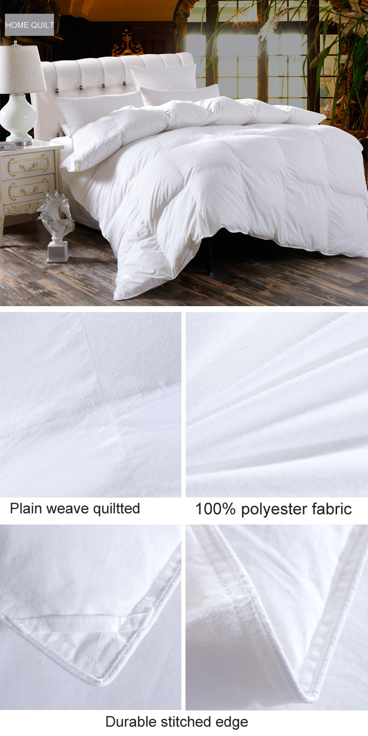 White Duck Down/Feather Duvet /Duvet Insert /Quilt/Comforter