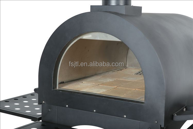 Wood Fired Smoker Charcoal Bbq Pizza Oven View Wood Fired