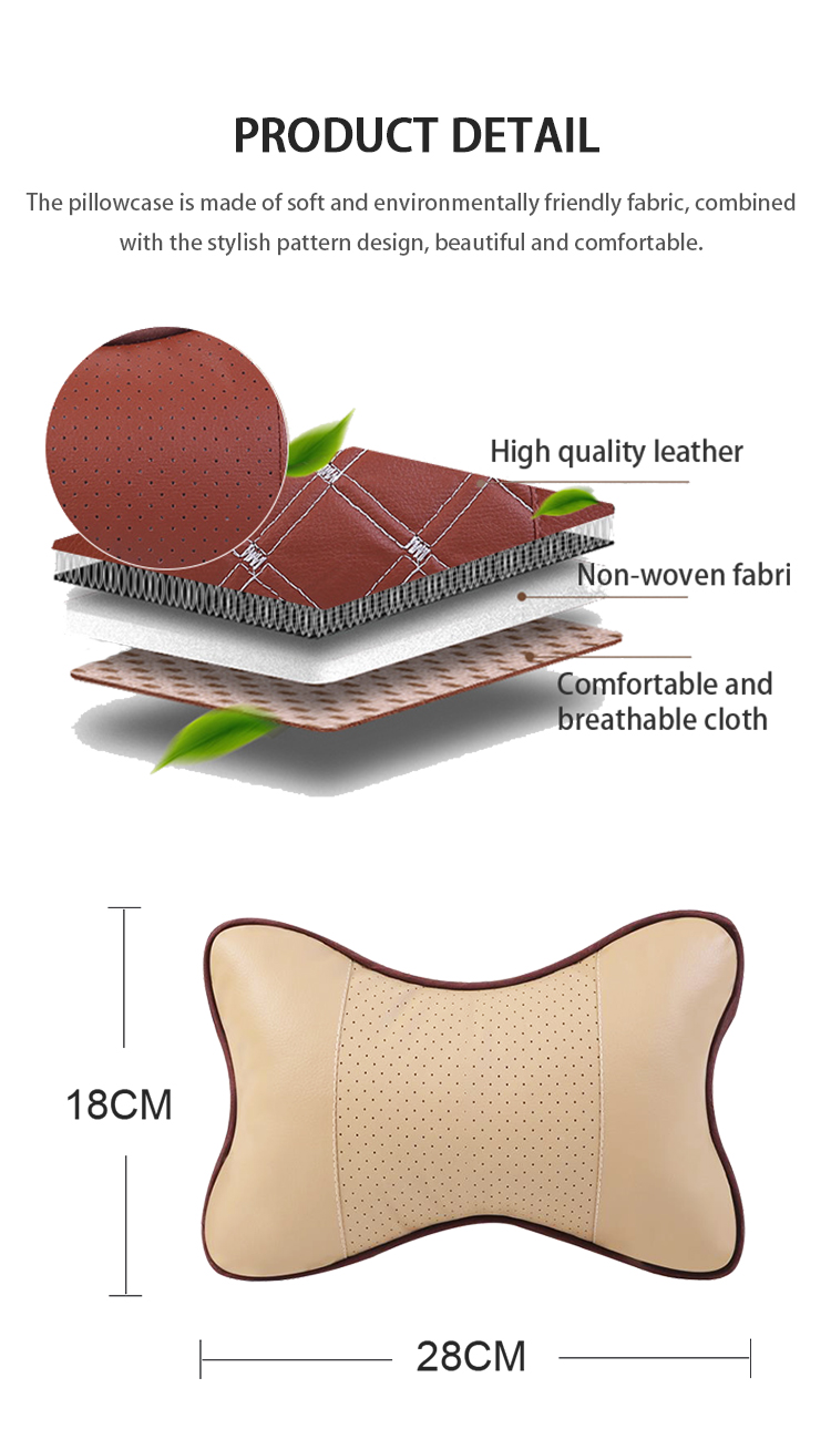TY-P-027 HIgh quality soft comfortable car waist back pillow cushion