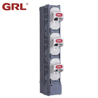 2018 New Type DNH18 Low voltage 380V 415V 690V Plastic 185MM Busbar Inline Bar NH Fuse Switch Holder