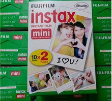 Fuji Fujifilm Instax Mini White 20 Film 7s 8 25 50s 90 300 Camera Share SP-1