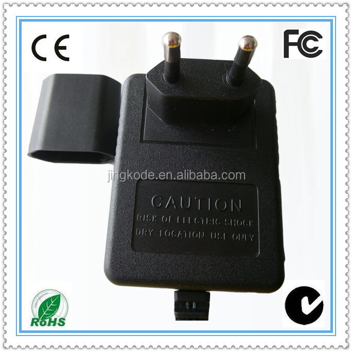 90-240v ac input wall mount charger 12v 1.6a ac output linear charger adapter 12v ac charger