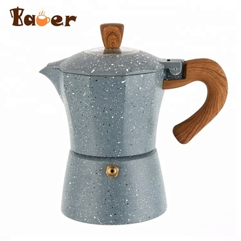 Newest Design Hand Pour Over espresso coffee maker/ aluminium coffee maker
