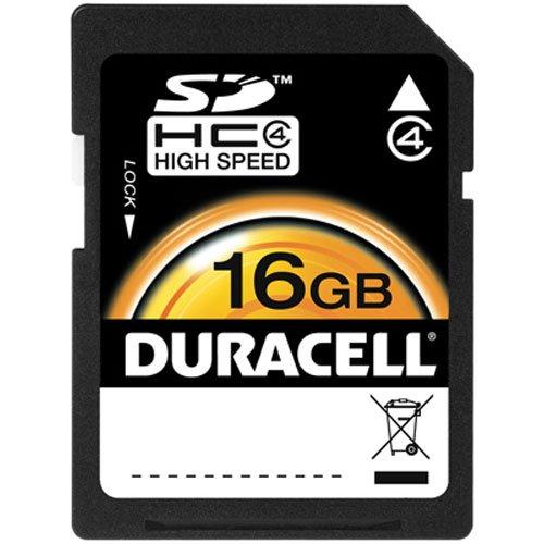 Duracell 16GB SD memory Card (DU-SD-16GB-R)