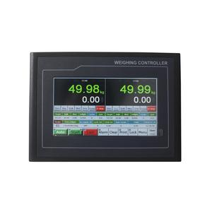 Packing Bag Weighing Indicator Controller With TFT Touch Screen RS232 RS485 AO