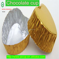 2016 New Design Aluminum Foil Chocolate Cups Manufacturer Prices From Guangzhou China