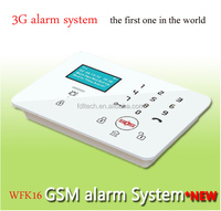 3G Gsm house alarm with Free Charge calling to control the car garage door or curtain,making life more comfortable