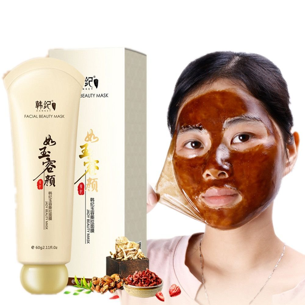 Remove Blackhead Facial Mask; Mosunx Add Water Skin Care Cream Deep Clean Purifying Face Mask (Brown)