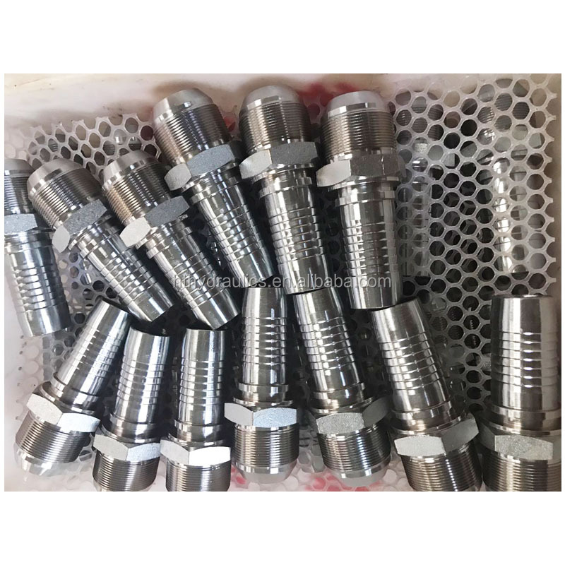 high quality Carbon Steel Male NPT hydraulic fittings 15611