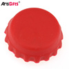 Customized design blank rubber silicone bottle caps