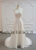 2017 Spring Collection Real Dress Custom Made Wedding Dress