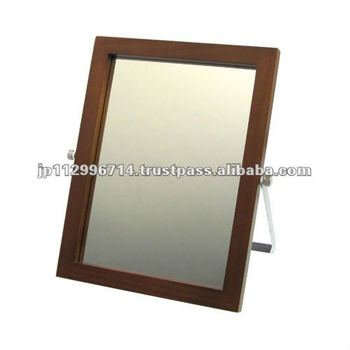 Wood Frame Stand Mirror - Buy Mirror,Standing Mirrors,Make Up Mirror ...