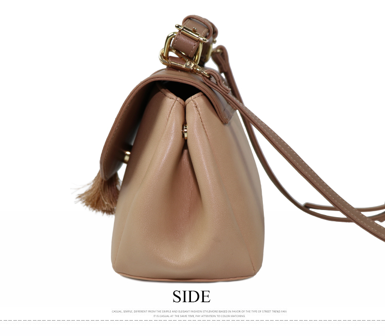 2019 wholesale newest women fashion bag branded lady leather satchel handbag with tassels