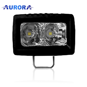 Canton Fair factory Aurora 2inch 10W small LED spotlight led lights for motorcycles