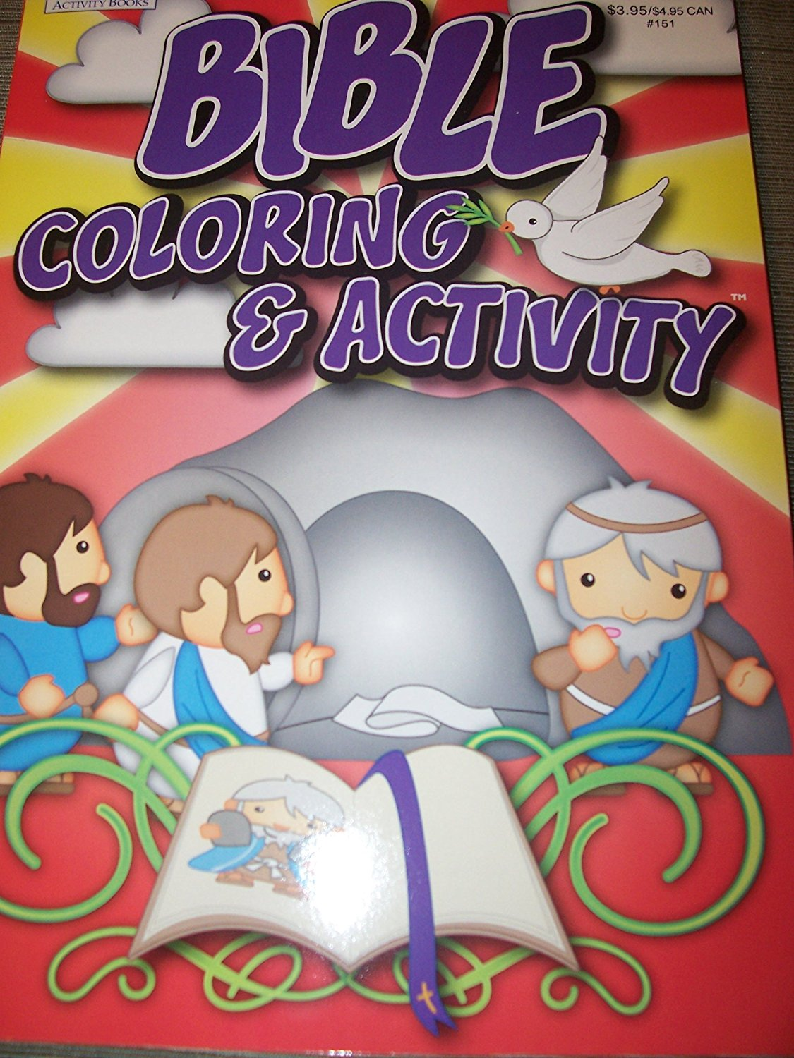 Bible Jumbo Coloring Activity Book