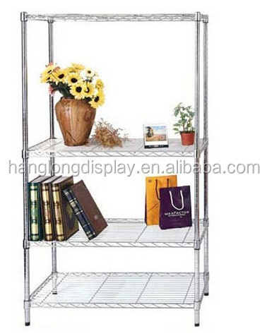 Modern metal storage display rack