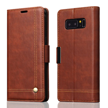 New Arrival PU Leather Wallet Mobile Phone Case for Samsung Galaxy Note8