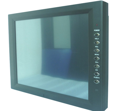"12 ""Industrial Touch Monitor touchscreen จอภาพ LCD touchscreen"