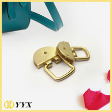 gold metal fittings decorative hardware for handbags