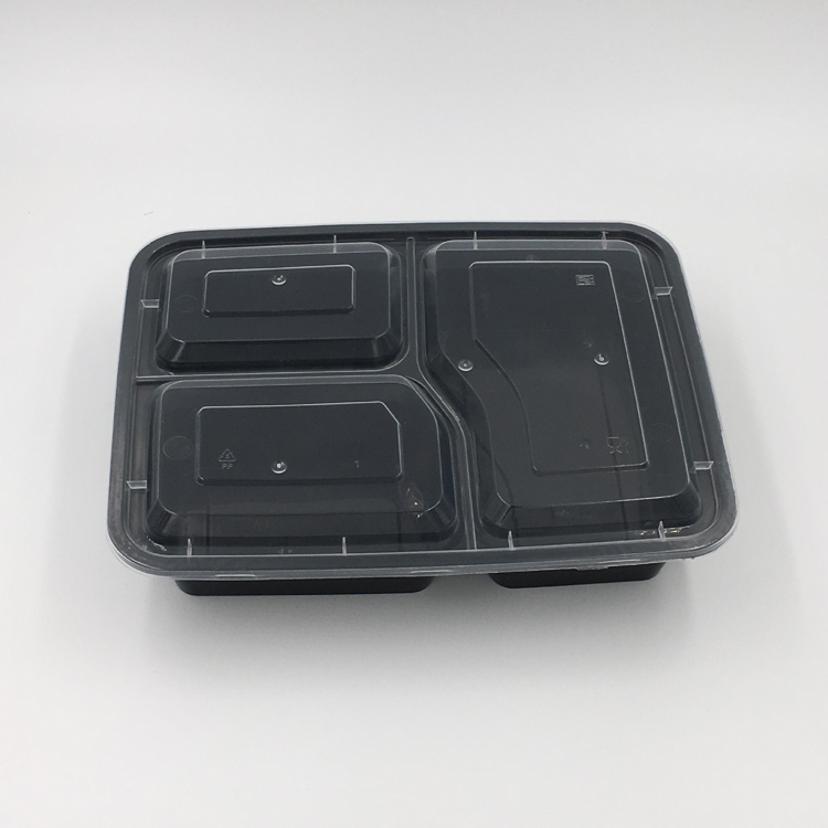 High quality biodegradable disposable plastic container for food packing