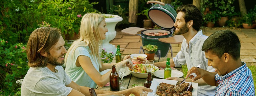 Hot Premium Patio Classic Charcoal Grill Japanese Ceramic Smoker