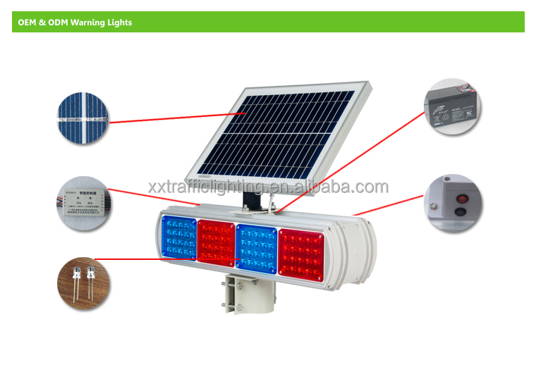 Waterproof Red/blue Led Traffic Signal Light/driveway Traffic ...