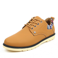 Fall New England men's fashion Italian shoes wholesale retro trend men's casual men's shoes