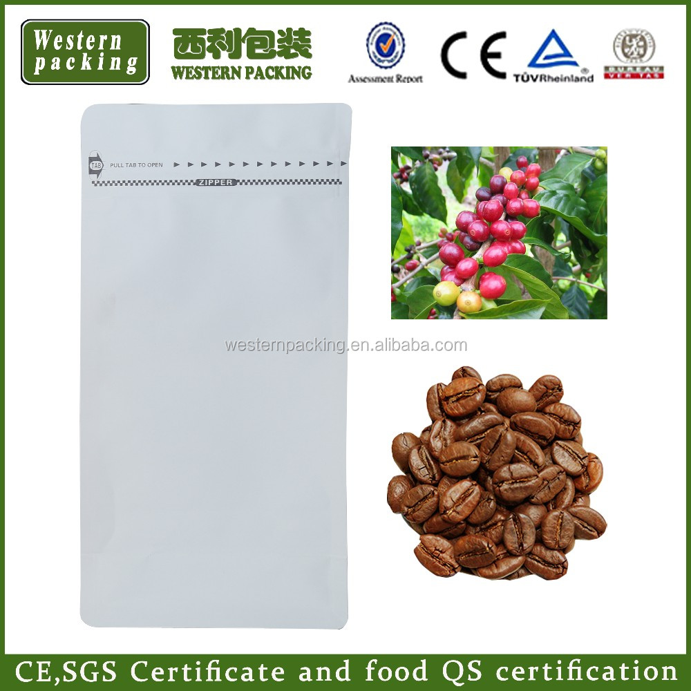 Guangzhou supply coffee bag with coffee design, jute coffee bean bags, Coffee Packaging Ziplock With Valve