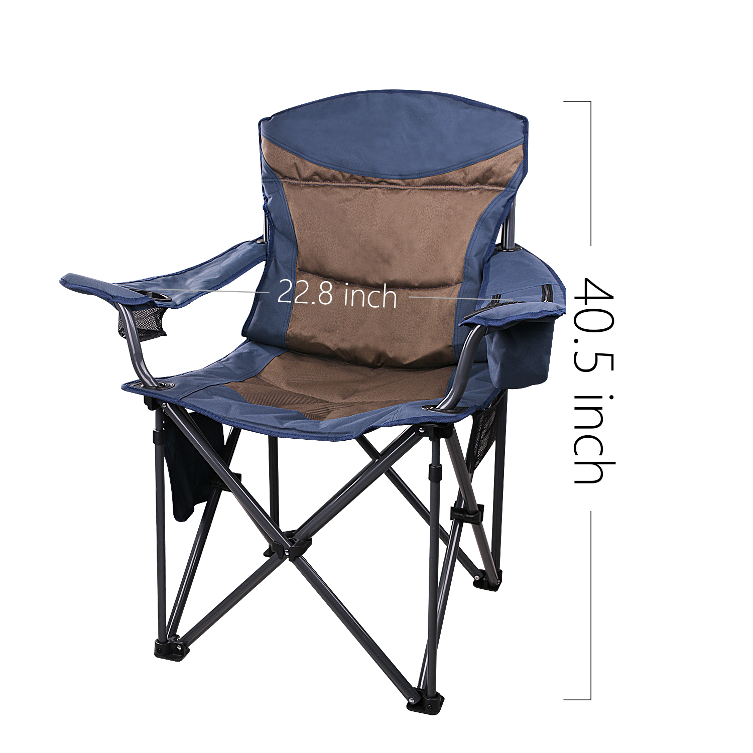 Admirable High Quality Deluxe Outdoor Folding Camping Chairs With Cooler Buy High Quality Folding Camping Chair Folding Camping Chair With Cooler Deluxe Machost Co Dining Chair Design Ideas Machostcouk