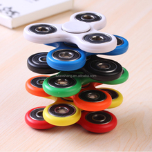 2017 Best Selling Hand Tri-Spinner Fidget 608 Ceramic Bearing Spinner Fidget Toy