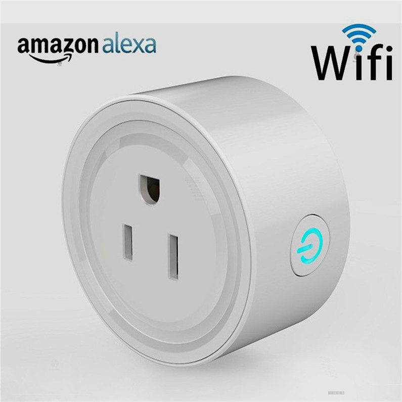 Wireless Electrical Plug Type and Residential / General-Purpose Application wifi smart plug socket