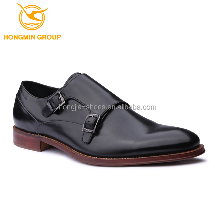dress china cow full monk leather shoes shoe style grain 2018 man wholesale sale strap Fashion Double mens dress hot qR4AC