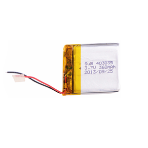 rechargeable 3.7v 403759 850mah lipo battery polymer lithium battery for electronic device