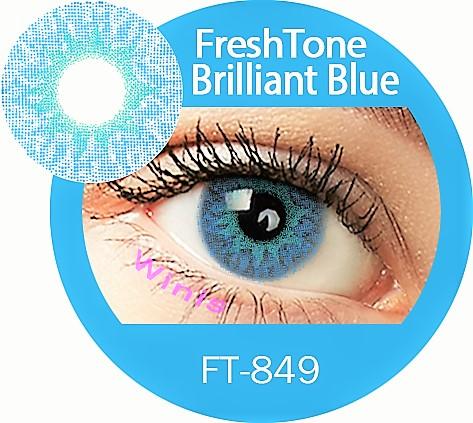 Freshtone Colour Contact Lenses Extra Series Brilliant Blue Color