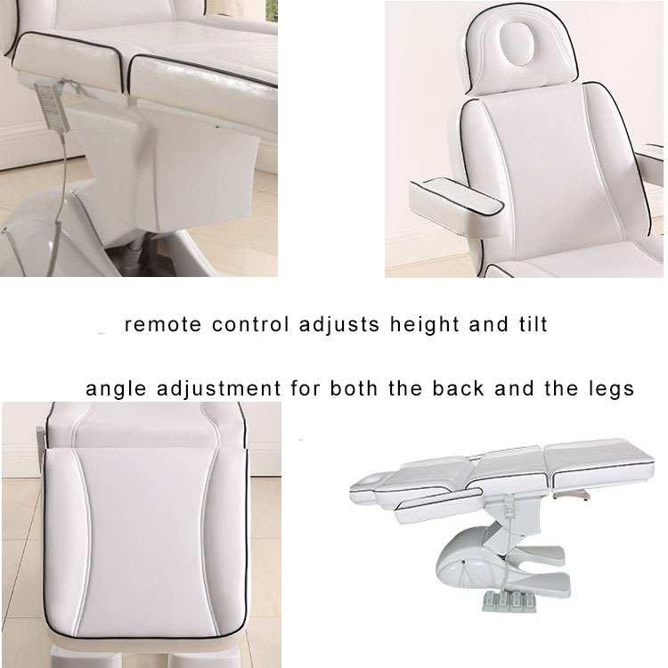 Adjustable Electric Beauty Bed Massage Spa Salon Body Facial Bed dental chair for sale