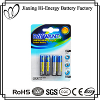High Quality Carbon Zinc R03 UM4 Extra Heavy Duty AAA Battery 1.5V