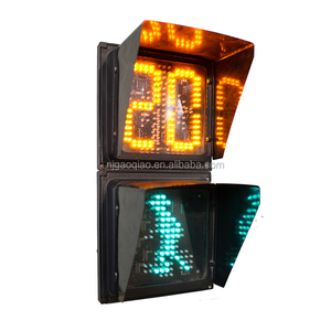 200mm LED Pedestrian Traffic Light Dynamic Man with countdown