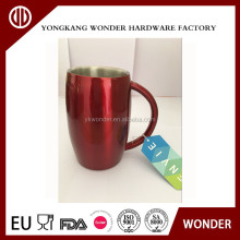 stainless steel double wall vacuum beer mug and disposable beer mug cool beer cup