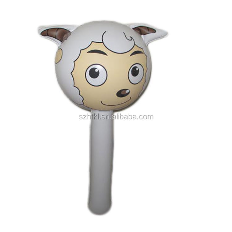 character pleasant goat and big big wolf inflatable kids hammer cartoon