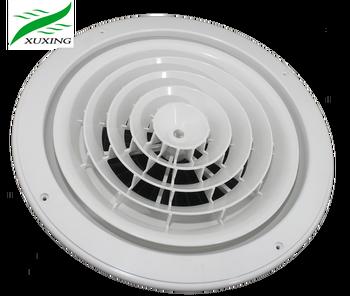 Round Damper Ceiling Air Vent Diffuser Plastic Air Diffuser - Buy Plastic  Air Diffuser,Dampers Ceiling Air Diffusers,Round Air Vent Diffuser Product