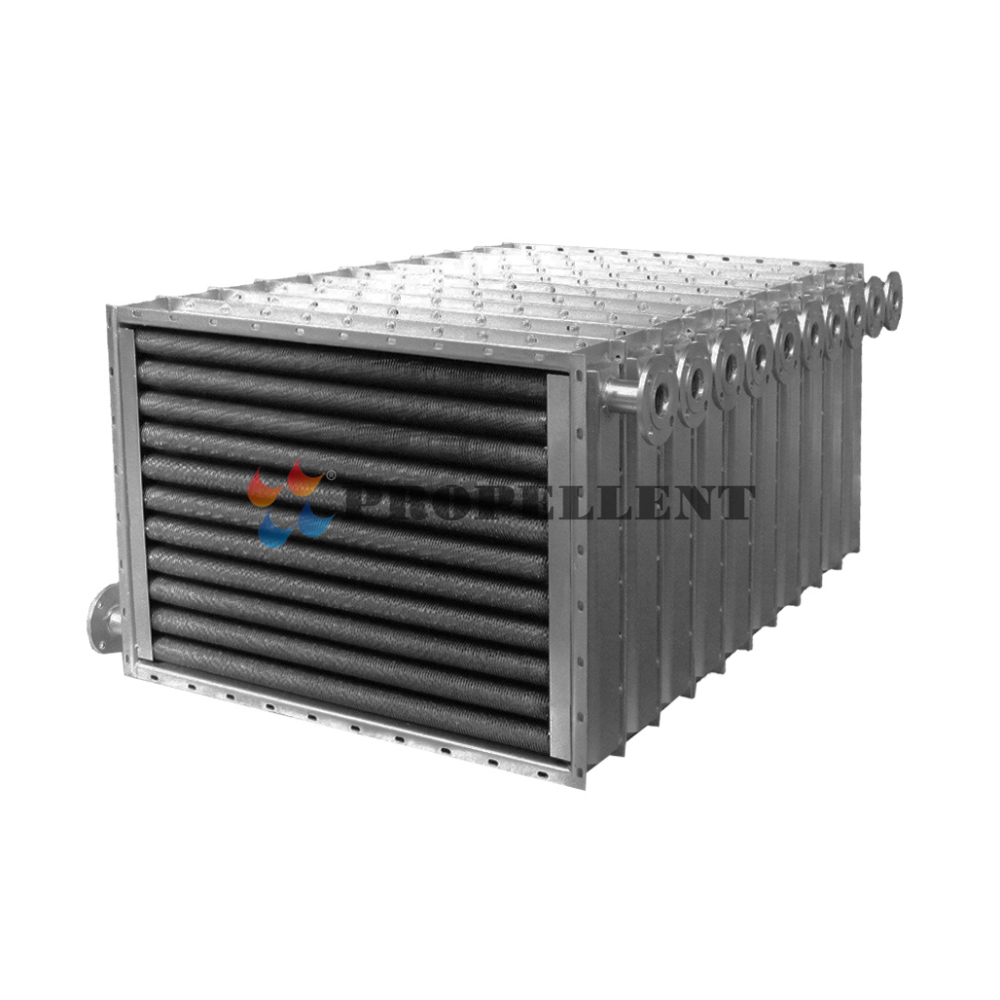 Copper Tube and Aluminum Fin/Stainless Steel Plate Fin Tube Heat Exchanger