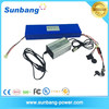 wholesale rechargeable li-ion battery pack 24v 20ah electric bike battery