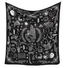 Настенный гобелен с индийской мандалой, пляжный ковер, одеяло, палатка для кемпинга, дорожный матрас, богемный коврик для сна(Китай)