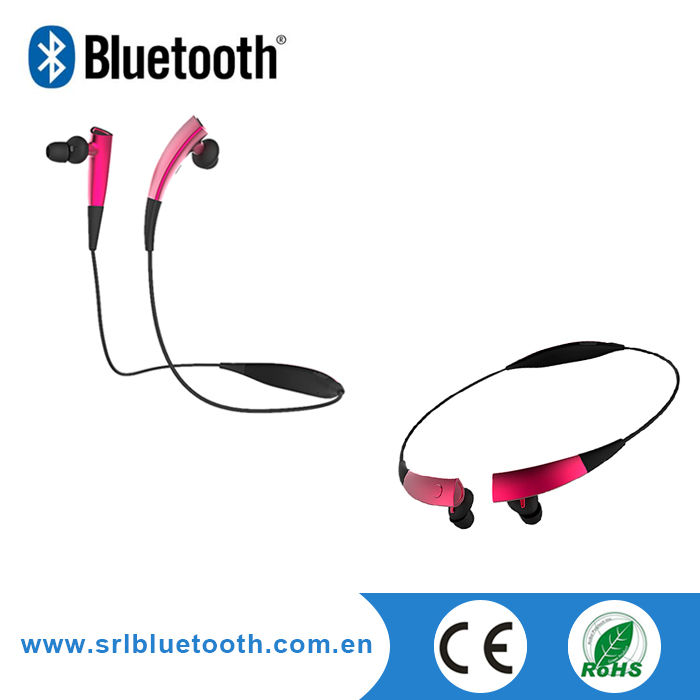 Wholesale Different Colors Bluetooth Neckband Stereo Headset