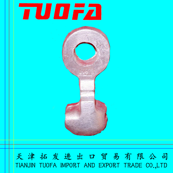 ANSI Standard Power Fitting Forged Steel Clevis/Round Thimble For Power Accessories