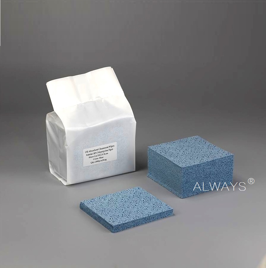 Meltblown Polypropylene nonwoven wiping oil polish cleaning wipes nonwoven fabric