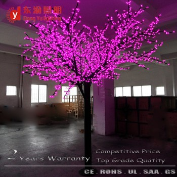 Pink Cherry Blossom Outdoor Lighted Twig Christmas Trees - Buy ...
