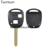 For Toyota Car Remote Key 2 button remote key shell